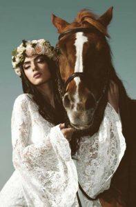 Mua: Antonia Antoniou | Photo: Louis Loizides Mitsu | Dress: Anna Dorothea